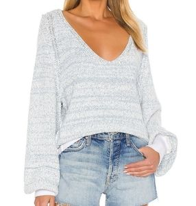 New Free People Riptide V-neck Sweater